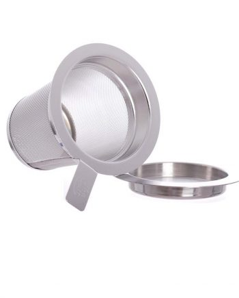 medium Stainless Steel Strainer in a medium size