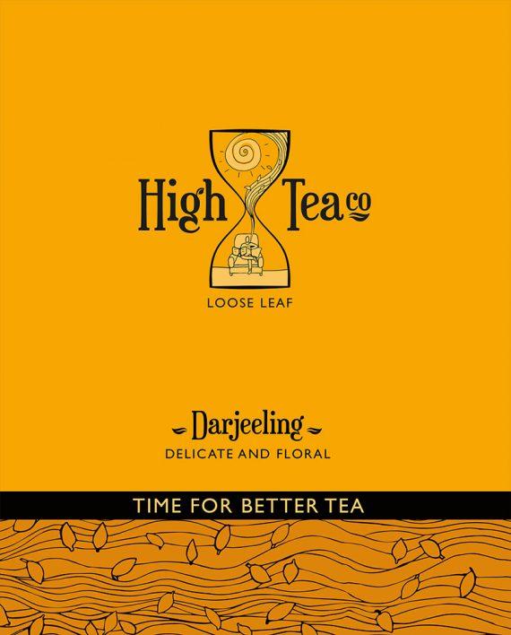 Loose Leaf Darjeeling Black Tea by High Tea Co