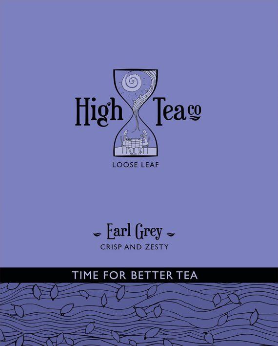 Loose Leaf Earl Grey Tea by High Tea Co