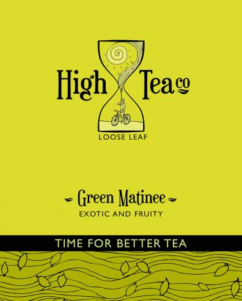 Loose Leaf Green Matinee Tea by High Tea Co