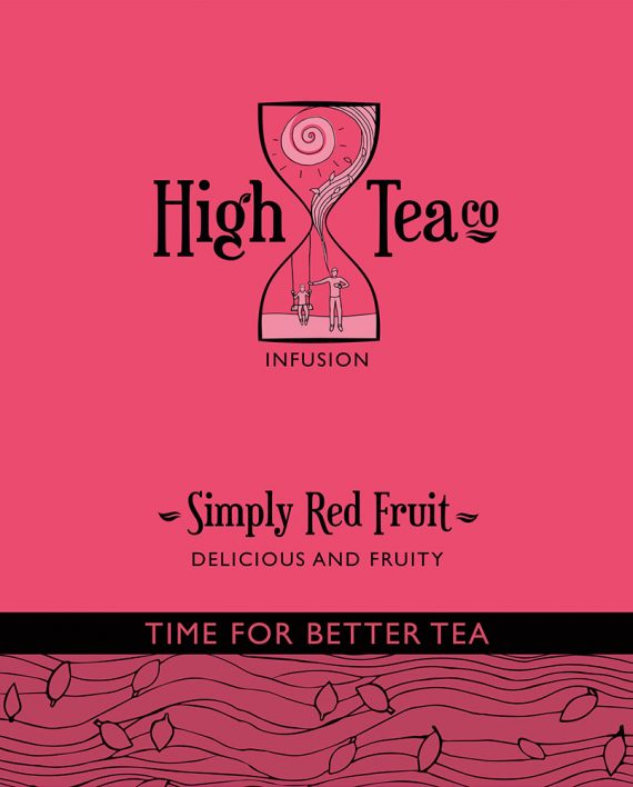 Loose Leaf Simply Red Fruit Tea by High Tea Co