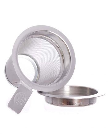 small stainless steel strainer