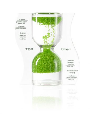 The lime green tea timer teaware product