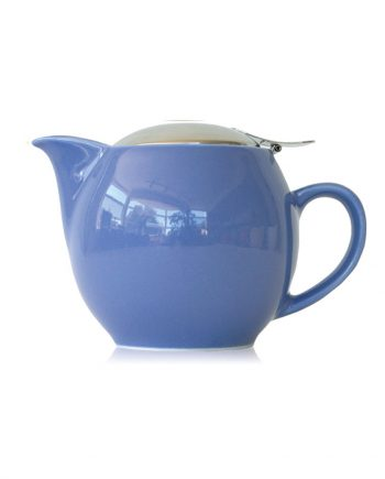Blueberry teapot that holds 2-3 cups of tea